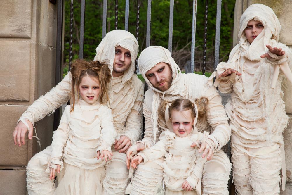Mummy Family Costumes