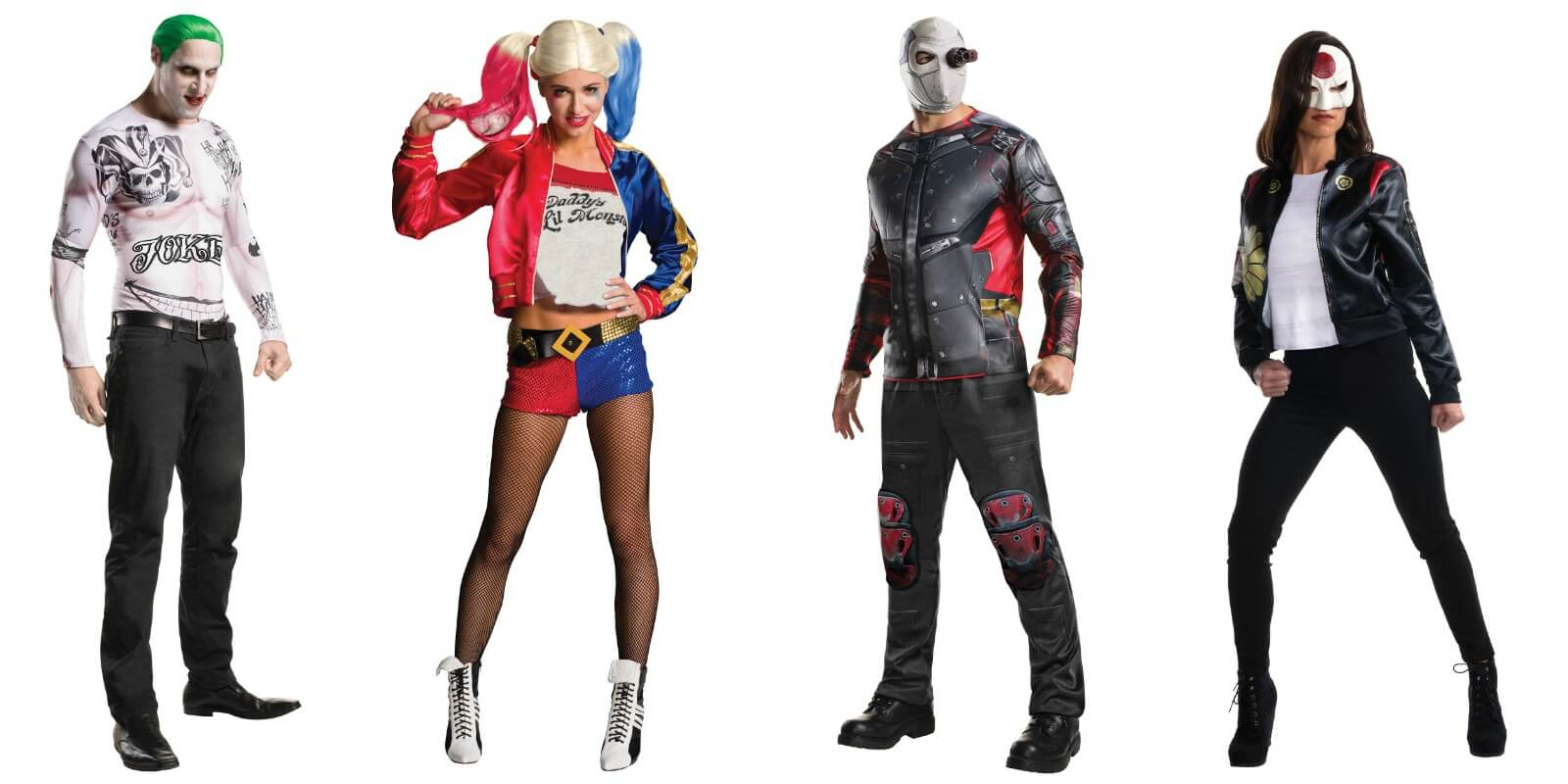 Adult Suicide Squad Costume Ideas