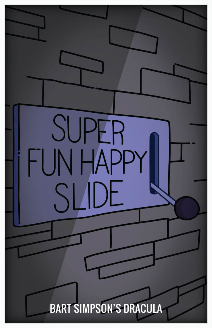 Simpsons Happy Slide