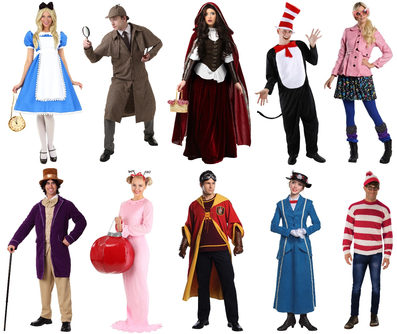 Book Character Costumes for Work