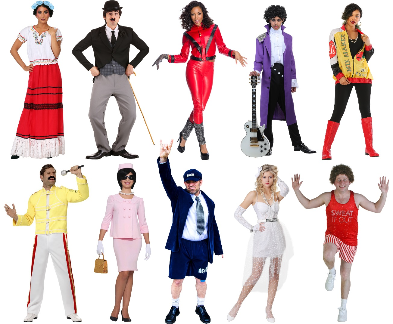 Celebrity Costumes for Work