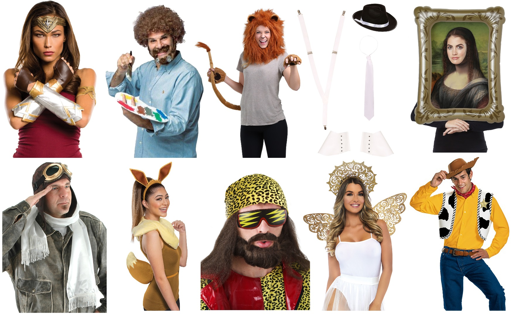 Costume Accessory Kits for Work