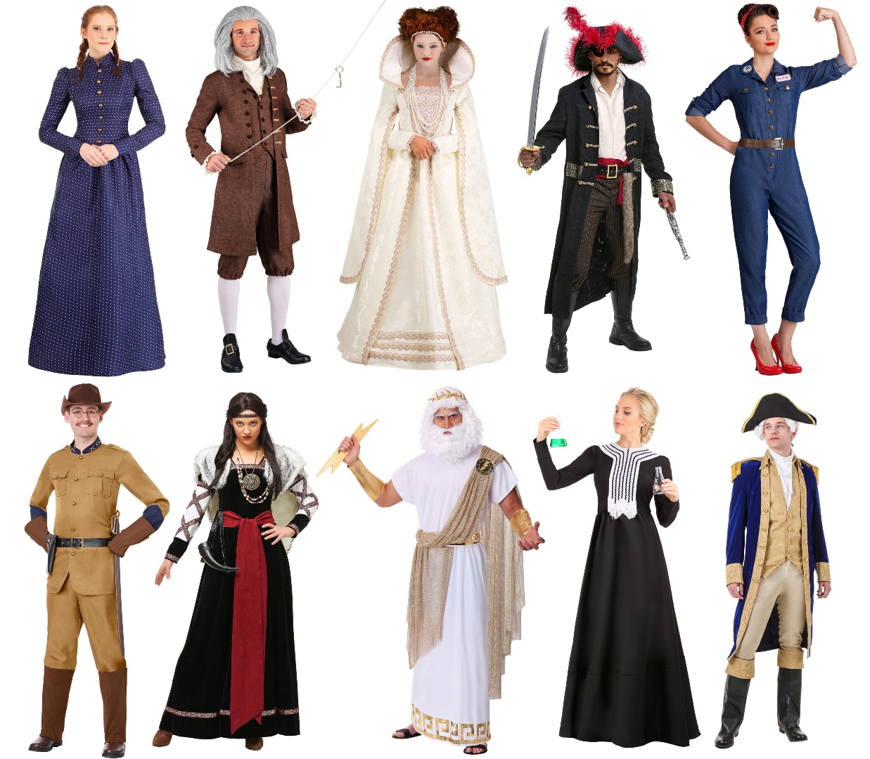 Historical Costumes for Work