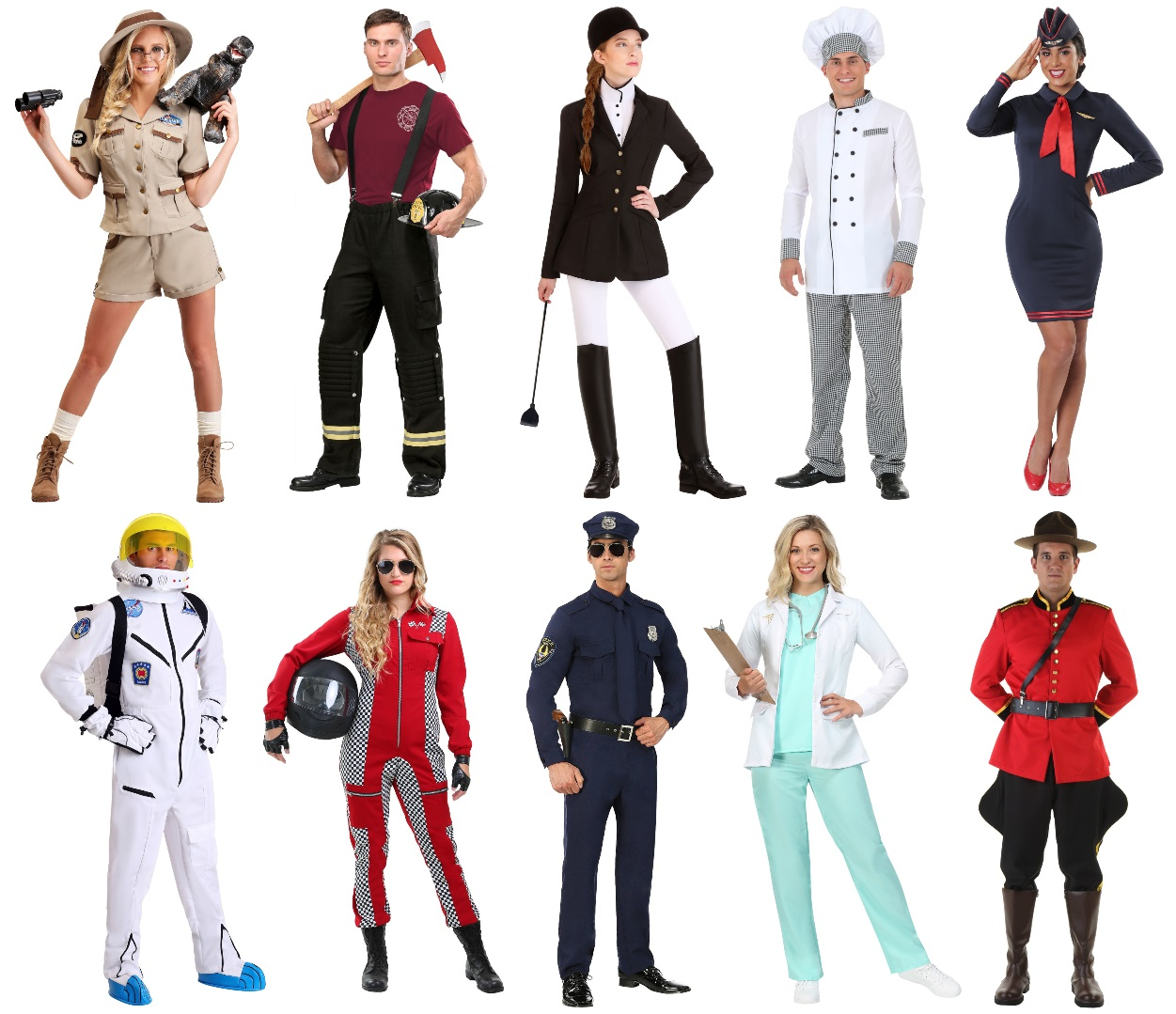 Occupation Costumes for Work