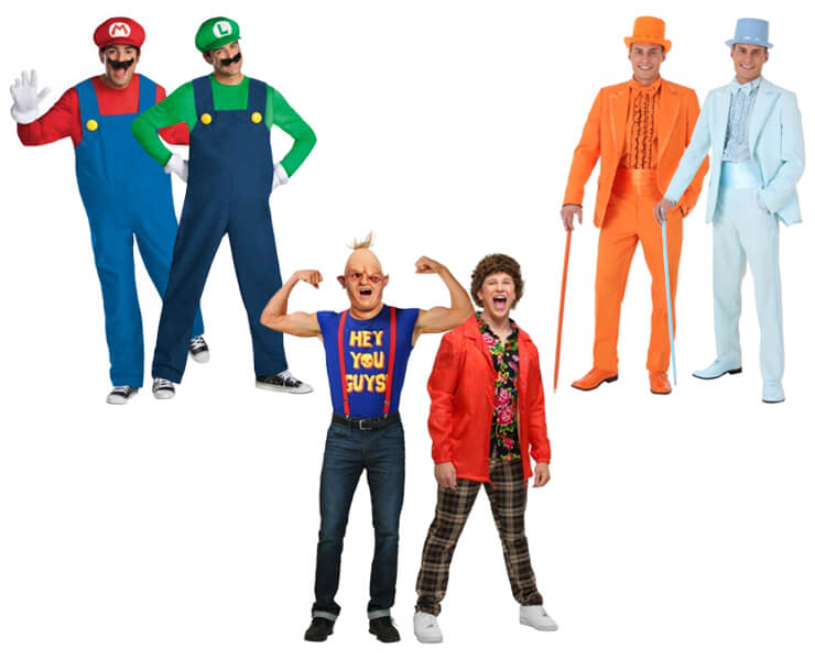 Costumes for Twin Brothers