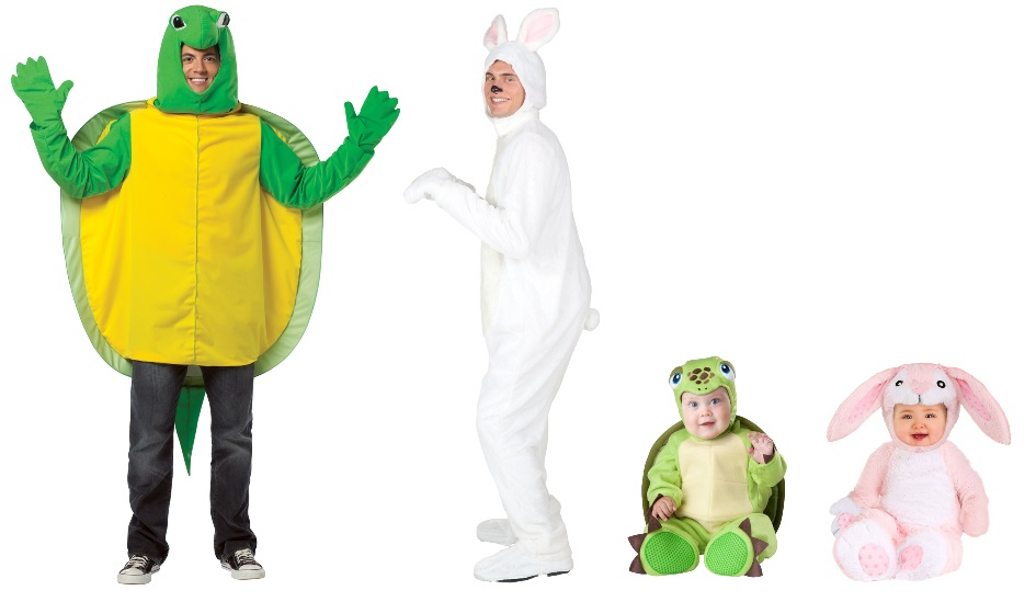Hare and Tortoise Costumes