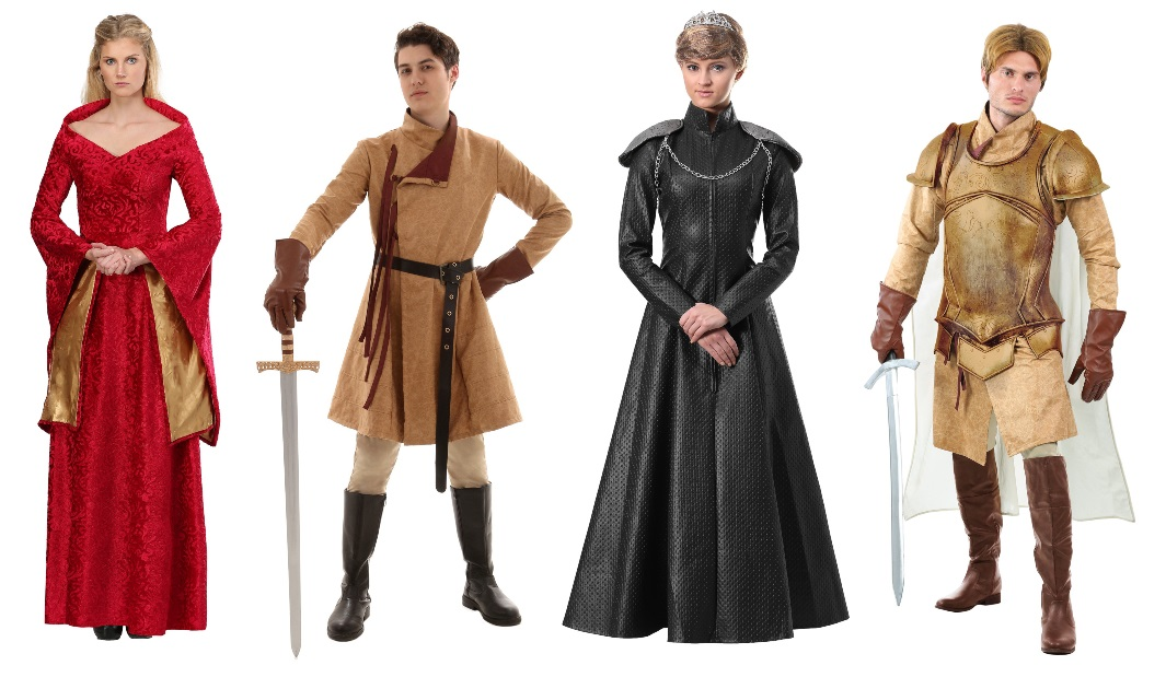 Cersei and Jaime Lannister Costumes