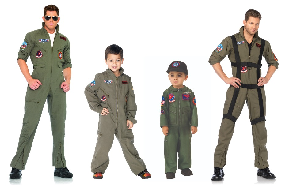 Maverick and Goose Costumes
