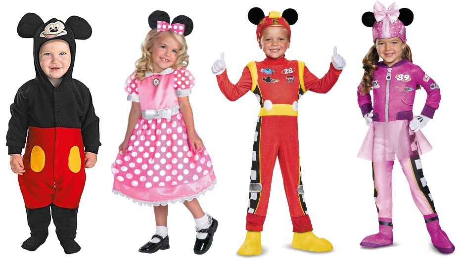 Minnie and Mickey Costumes