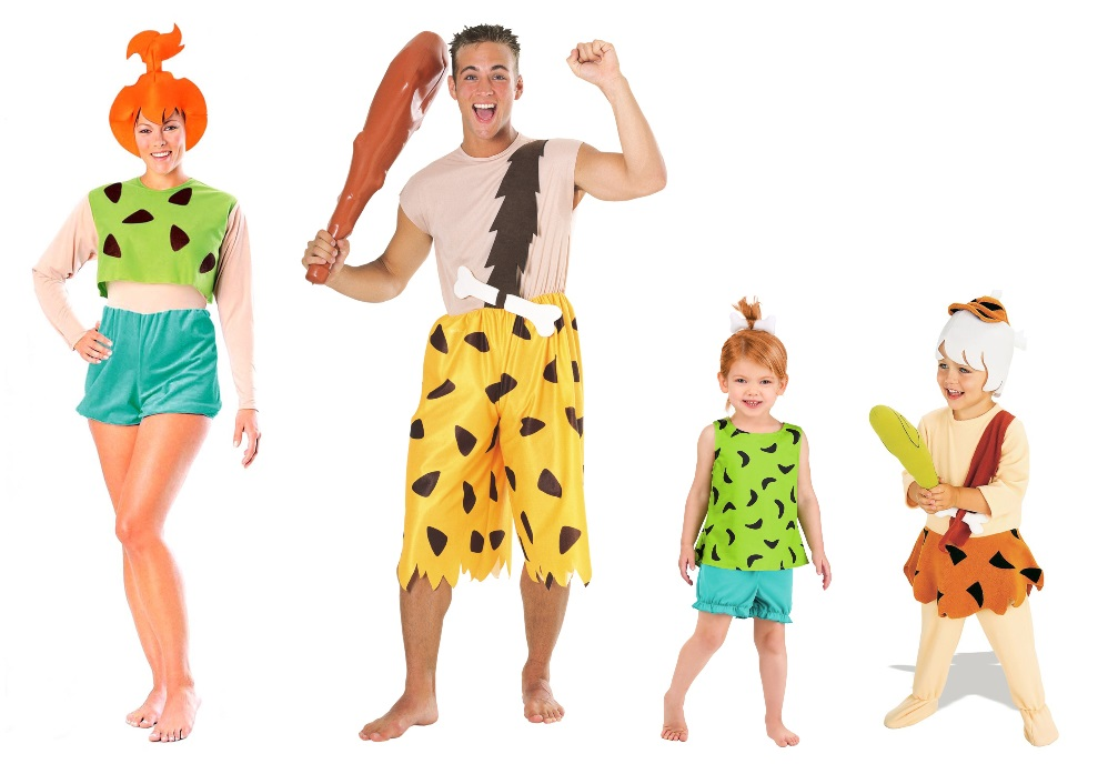 Pebbles and Bamm Bamm Costumes