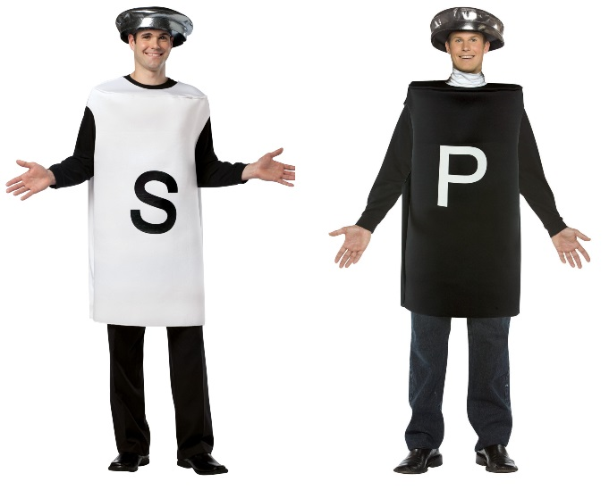 Pepper and Salt Costumes