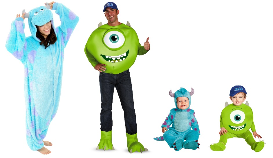 Sully and Mike Costumes