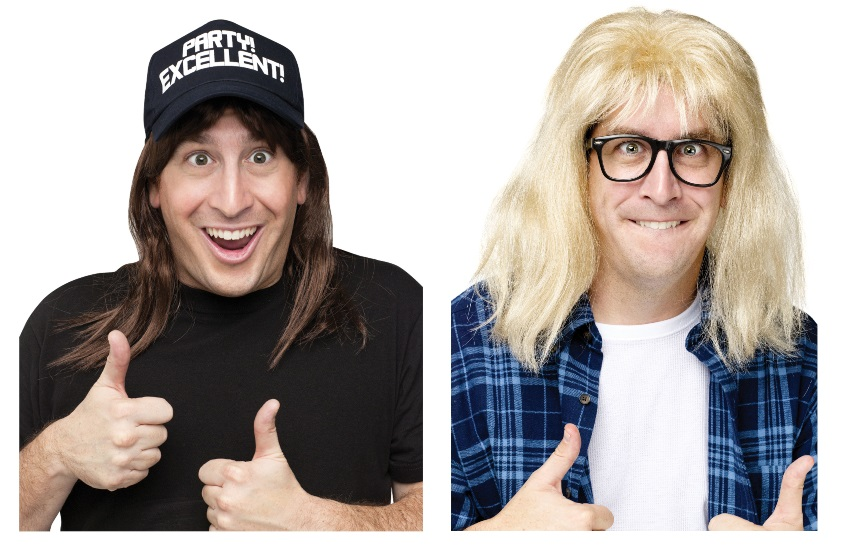 Garth and Wayne Costumes