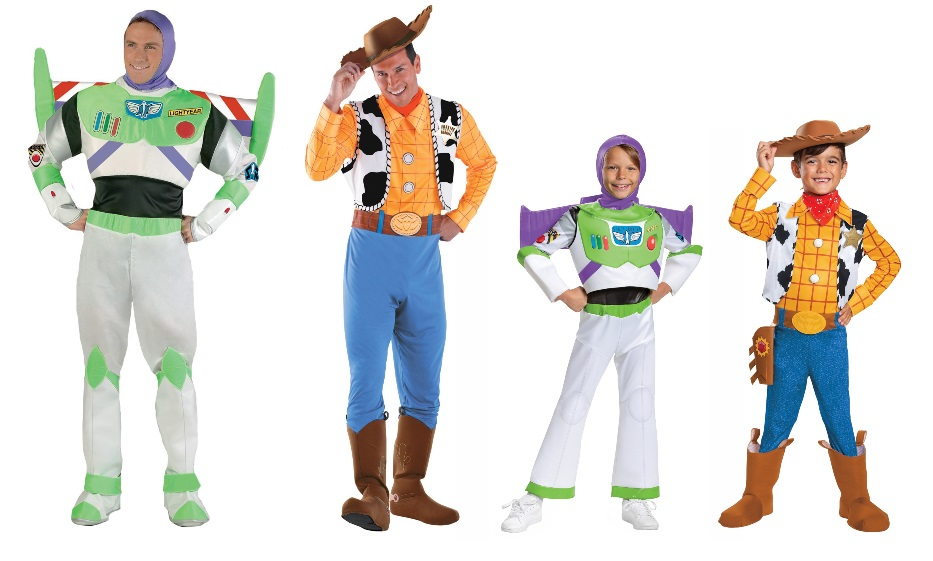 Woody and Buzz Costumes