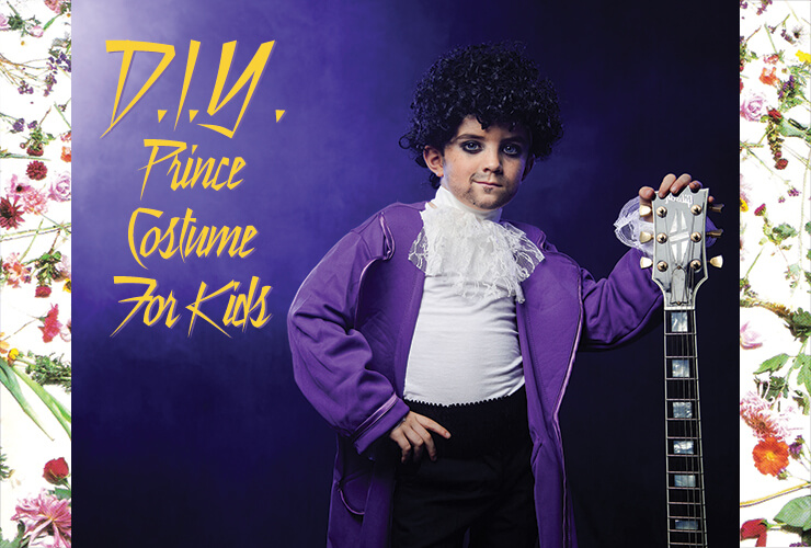 Prince Halloween Costume DIY