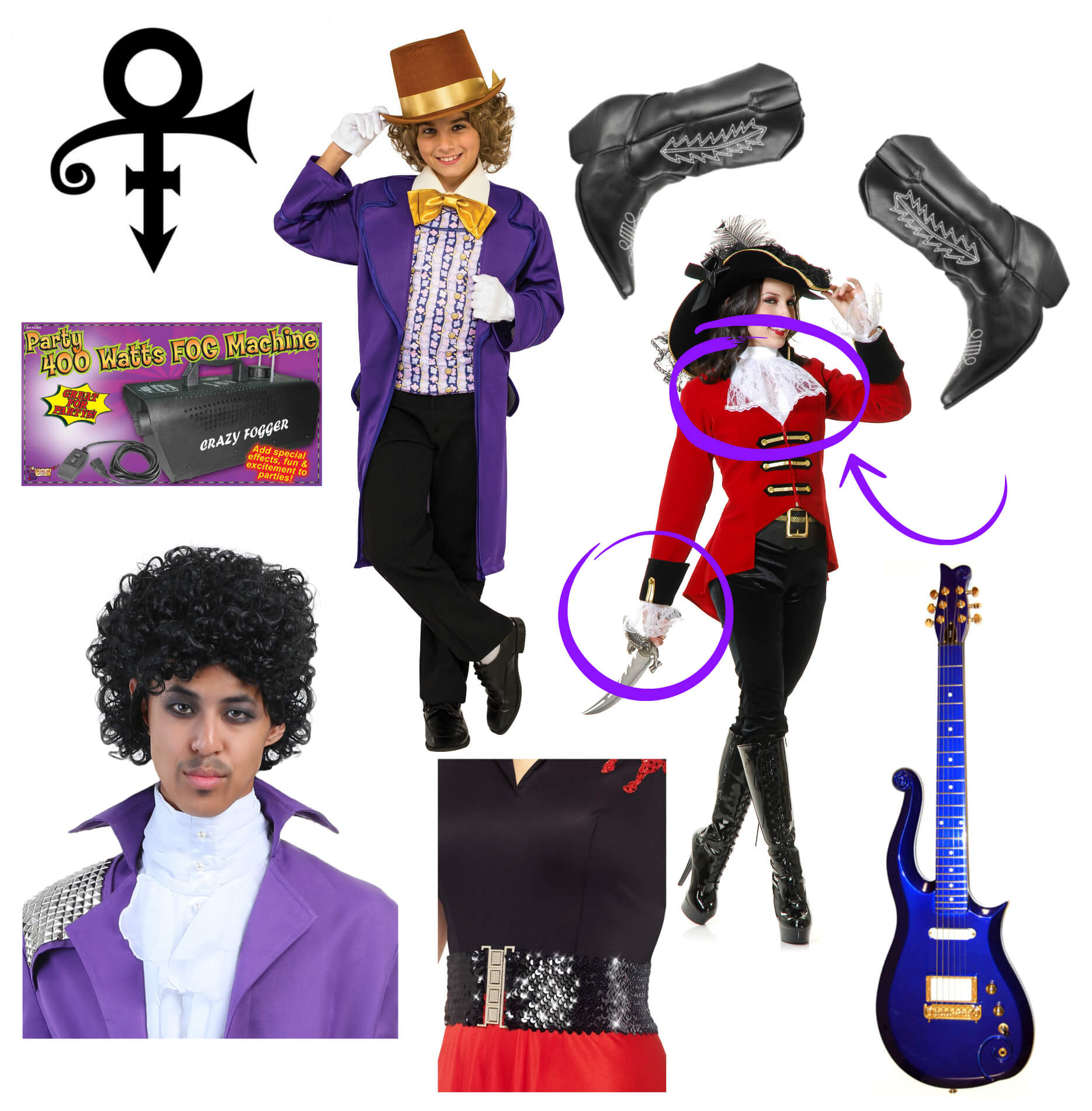 Prince Costume DIY Products
