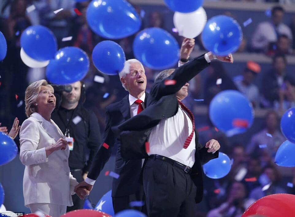 Bill Clinton Balloons