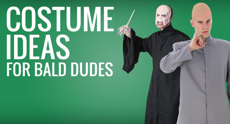 costume ideas for bald dudes
