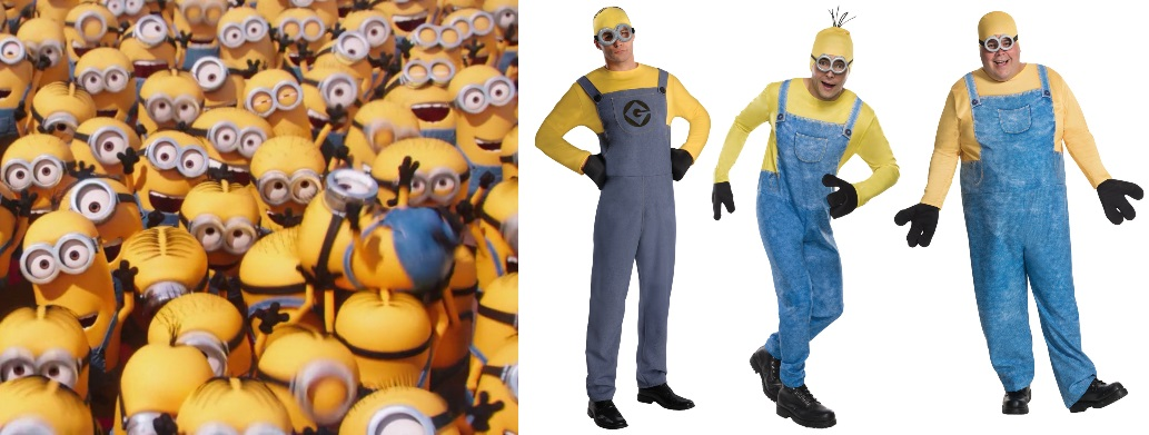 2. Minion Costumes