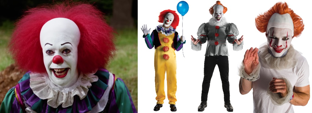 1. Pennywise Costumes
