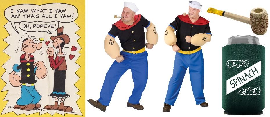 11. Popeye Costumes