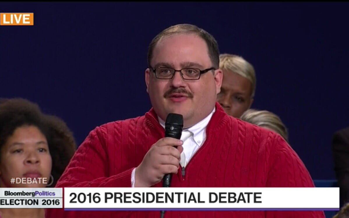 Ken Bone at the Debate