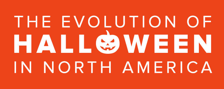 History of Halloween in North America Infographic