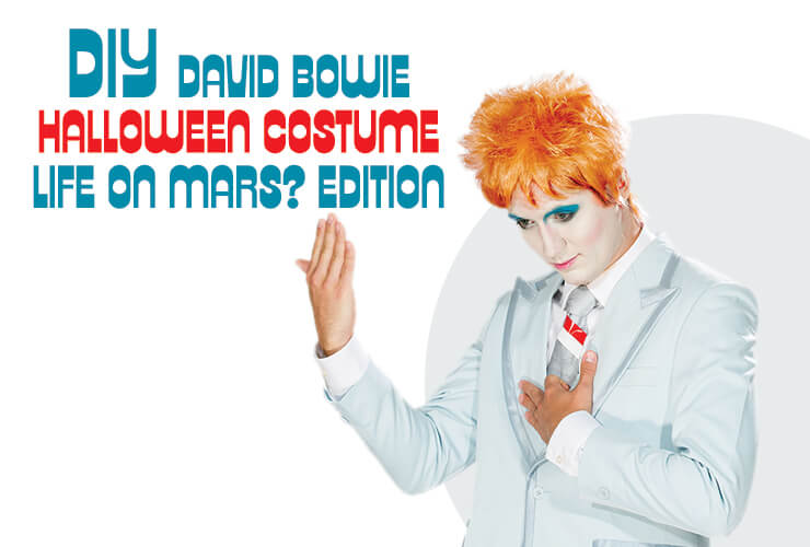 David Bowie Life on Mars DIY