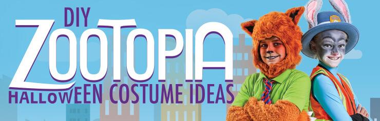 Zootopia DIY Costumes Header