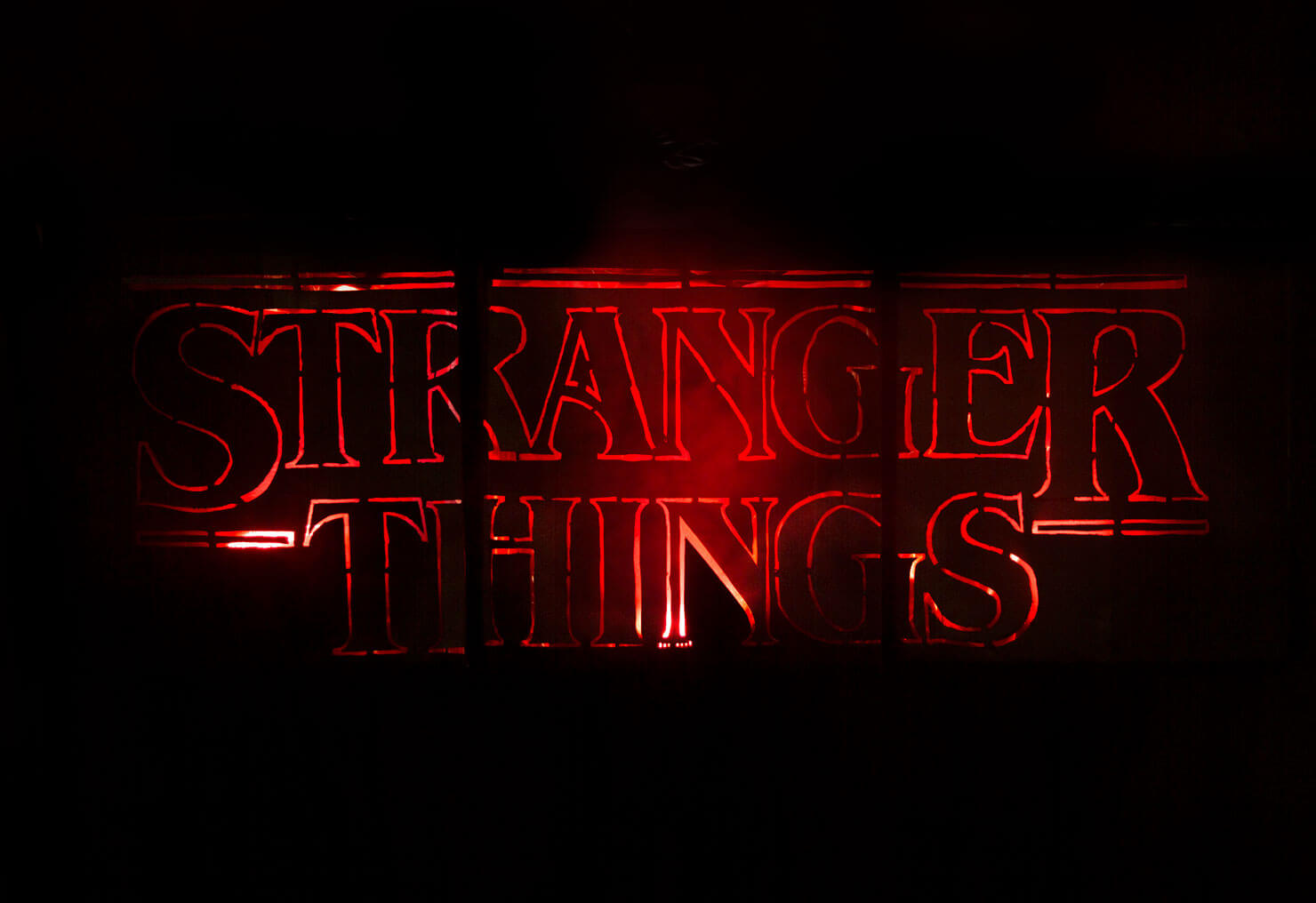 Stranger Things Logo Costume