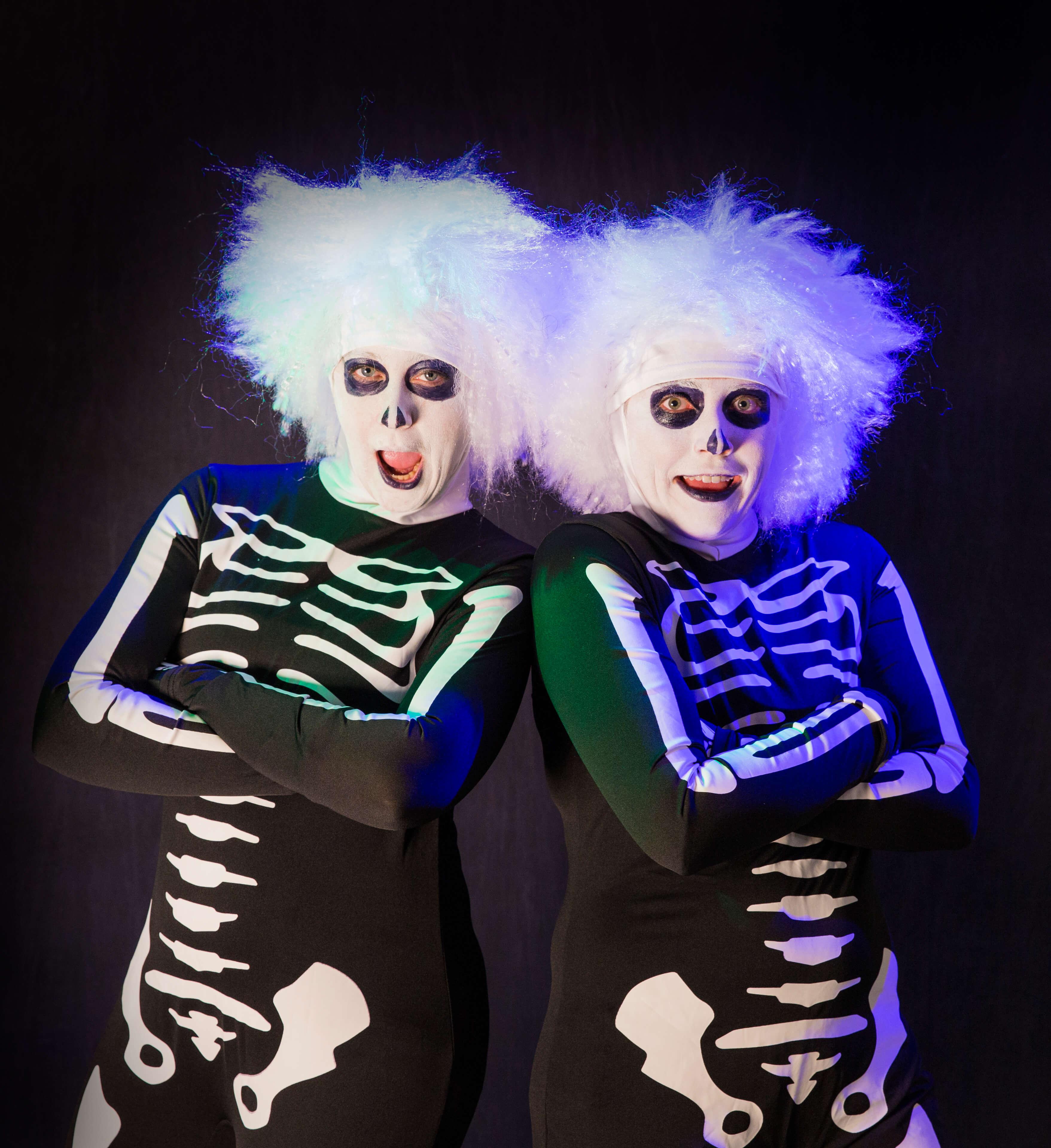 Skeletons from David Pumpkins