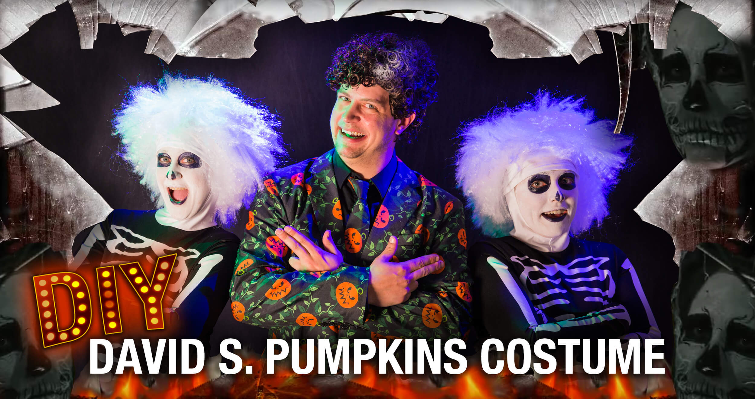 David Pumpkins Halloween Costume