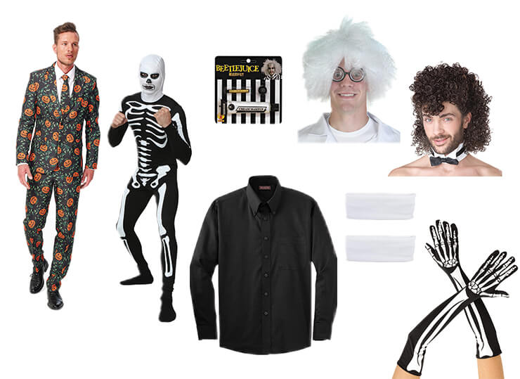 David Pumpkins Costume Pieces