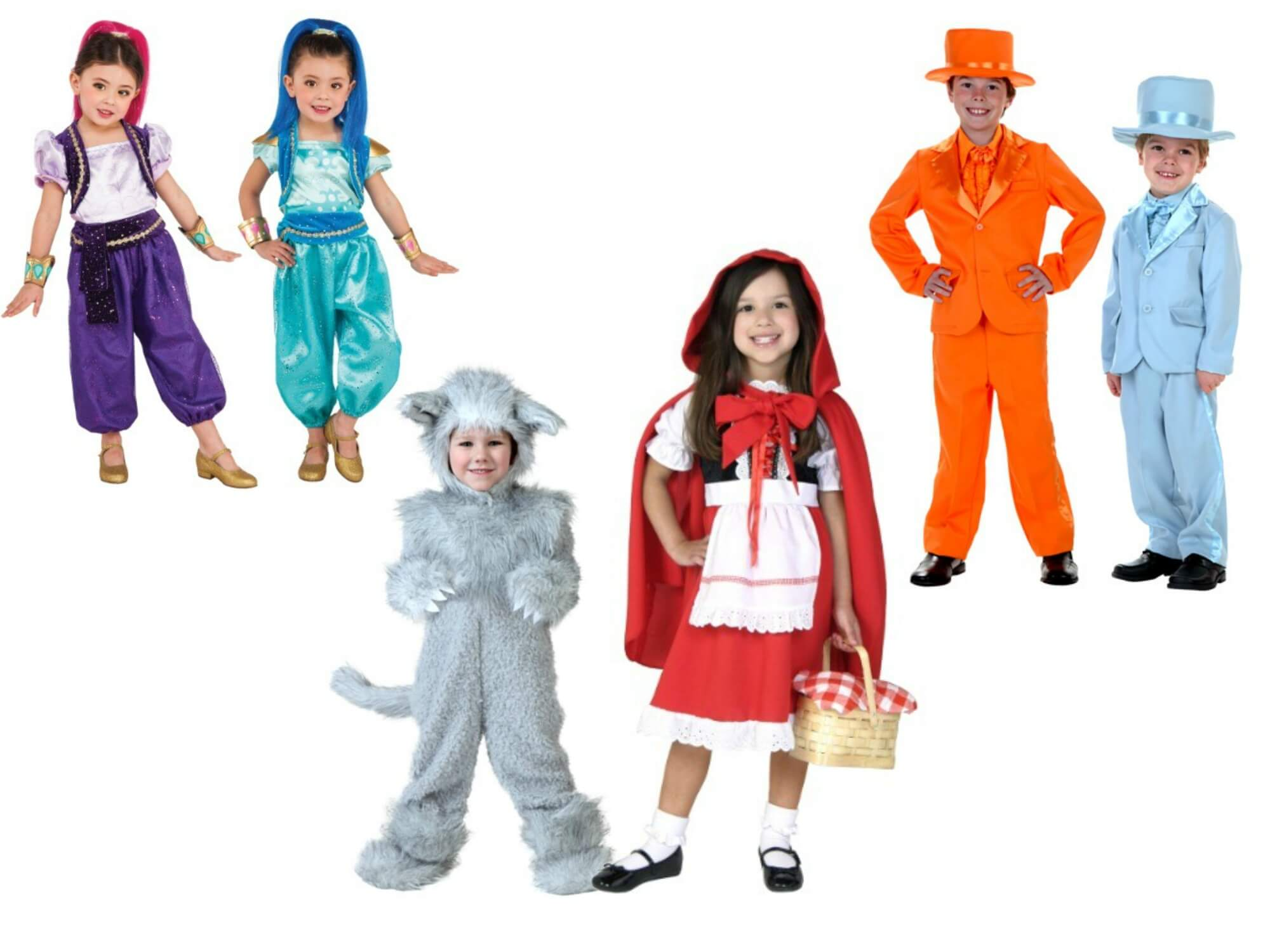 costumes for two siblings