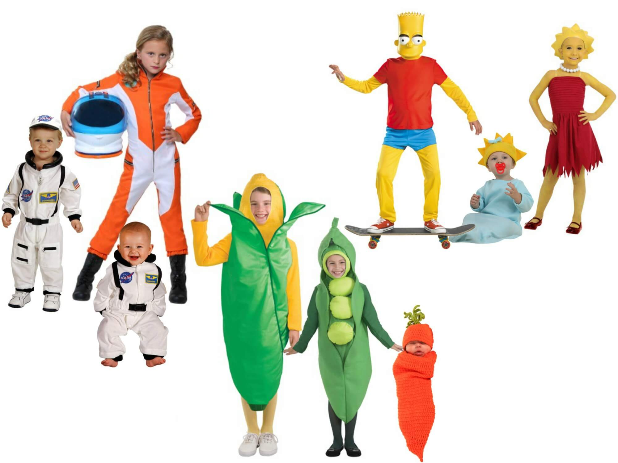Costumes for Groups with a Baby