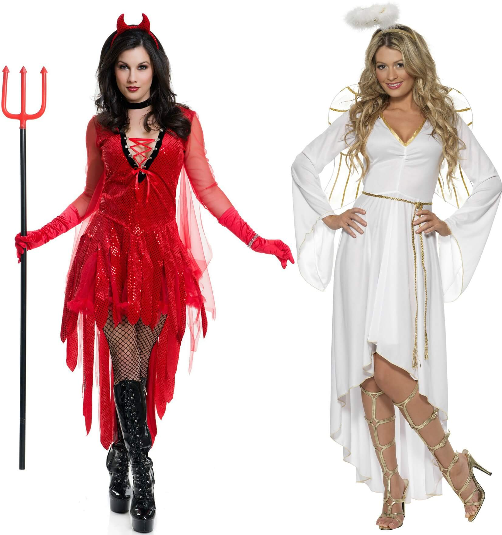 Angel and Devil Halloween Costumes  sc 1 st  Halloween Costumes & Costume Ideas for BFFs - Halloween Costumes Blog