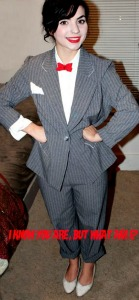 DIY Miss Pee-Wee Herman