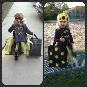 DIY Princess Batman