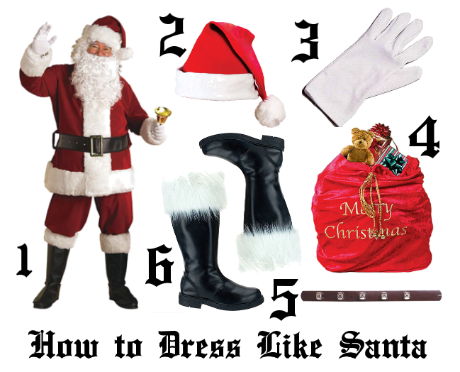 10 Things to Do in a Santa Claus Costume - Halloween ...