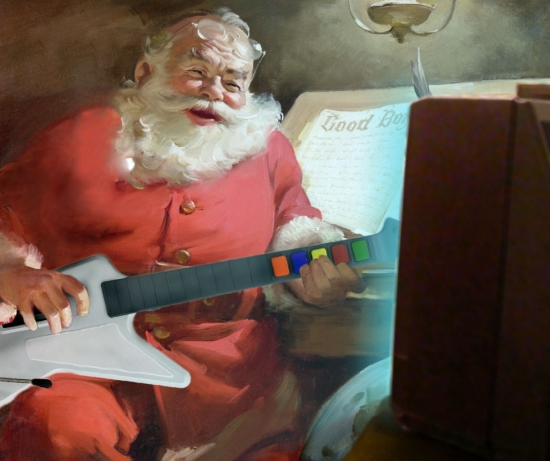 Santa Claus Rock Band