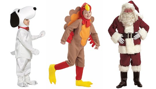Thanksgiving Parade Costumes