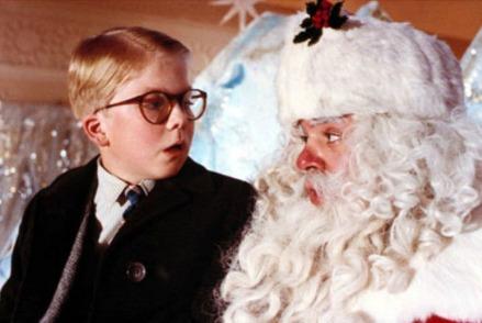 A Christmas Story Santa