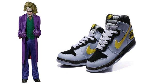 Joker with Batman Nikes