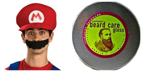 Super Mario's Mustache
