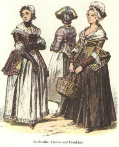 1700s Women's Clothing