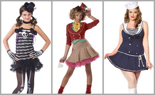 costumes for body types