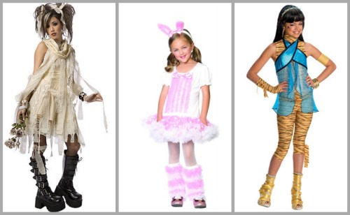 types of costumes