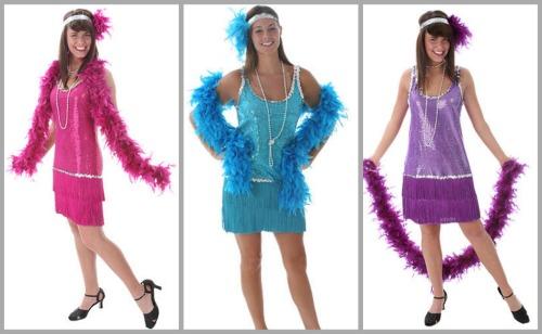 flapper costume colors