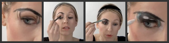 Cartoon Eyes Makeup Tutorial