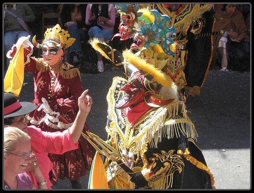 Devil Costume Bolivia
